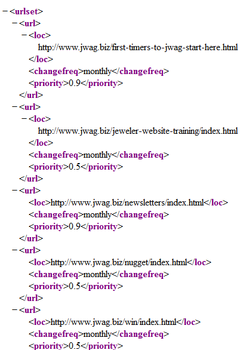 Creating the sitemap.xml